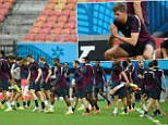 Wing and a prayer: England and captain Steven Gerrard train in Manaus