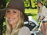 Finally! Kristin Cavallari took her son Jaxon Wyatt for a stroll in Chicago, spotted for the first time since giving birth last month