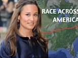 Race Across America route  pippa middleton race