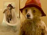 The iconic Paddington Bear comes to life in new film trailer as he wrecks havoc around the home of Mr and Mrs Brown
