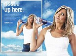 Jennifer Aniston looks better than ever at 45 as she poses in white tank top and blue jeans for new Smartwater ad
