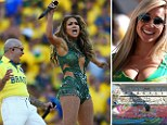World Cup: The opening ceremony got the 2014 World Cup underway in Sao Paulo
