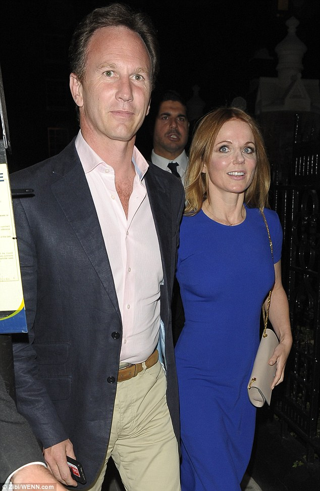 Working up an appetite: The pair are the latest celebs to make an appearance at Chiltern Firehouse, where they mixed with fellow diners Lily Allen, Bryan Ferry and Amanda Shepperd