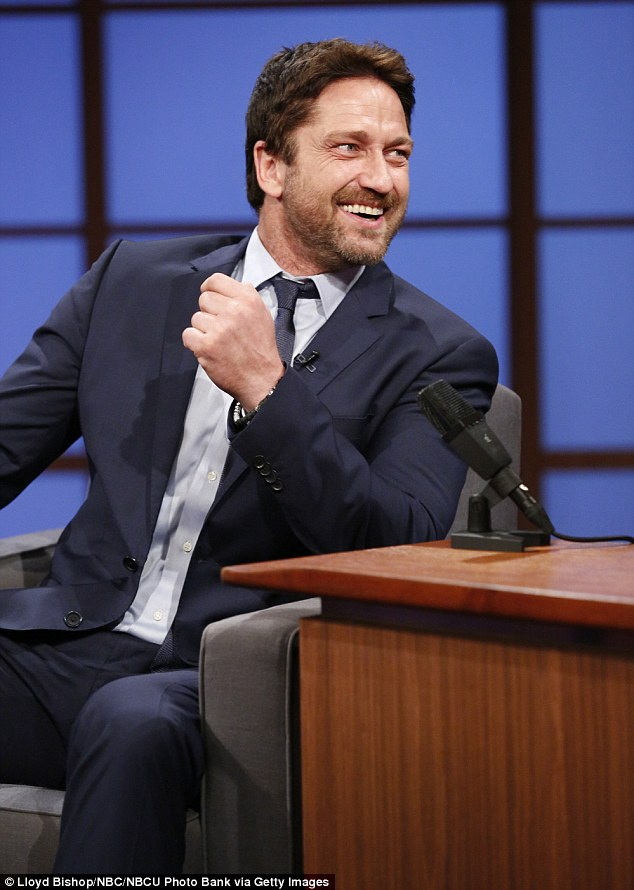 """The 300 actor said: 'Look you're playing a viking. I'm like 20 feet wide. I'm about 600 pounds. """"Can you fiddle with my mustache a little bit? Maybe man-scaping?"""" No, I don't really have much input'"""