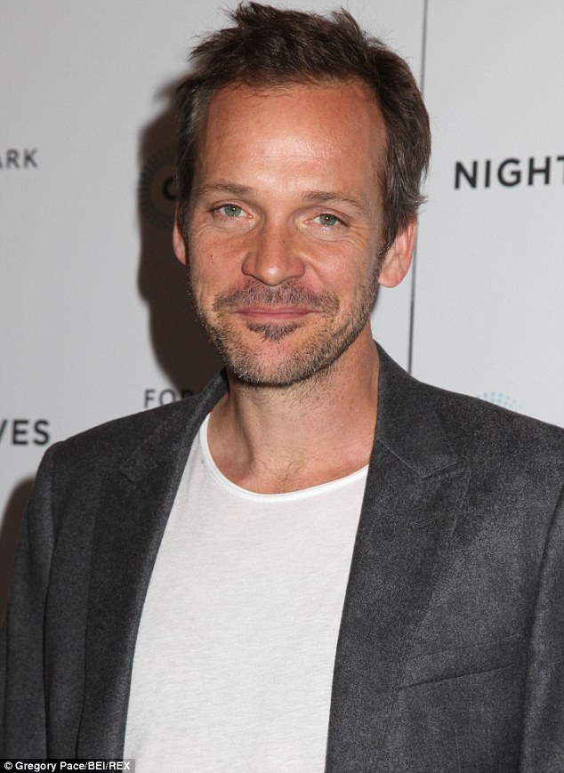 Right hand man: Peter Sarsgaard is playing Milgram in the indie feature, which started filming earlier this month