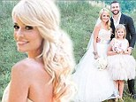 Bachelorette star Emily Maynard is a beautiful bride in white as new photos emerge from her wedding to Tyler Johnson