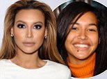 The changing face of Naya Rivera: New pictures show Glee star with large mole on her chin before she found fame