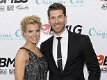 Newly weds: Kimberly Perry married baseball star beau J.P. Arencibia on Thursday in Greeneville, Tennessee