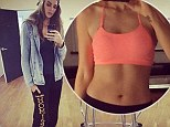 Trading in the swimsuits for track pants! Slimming Robyn Lawley proudly displays her new casual digs