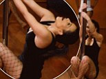 Kanye will be pleased! Kim Kardashian shows off her pole dancing skills in upcoming KUWTK episode