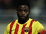 Heading back to England? Alex Song has been offered to Manchester United as the Luis Enrique era begins in Barcelona