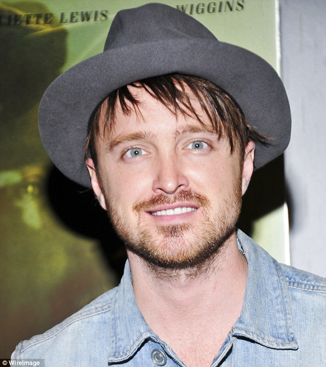 Paul scooped two Emmys for his role as Jesse Pinkman on Breaking Bad