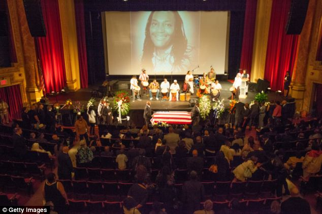 A funeral service for comedian James McNair, who was killed in the car crash that injured fellow comic Tracy Morgan, has been held at the Paramount Theatre in Peekskill, New York