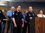 Sterling Police Chief Tyson Kerr speaks during a news conference Tuesday, June 3, 2014, where he announced that the remains of Shirley Severance, 70, of Sterling, Colo. had been found
