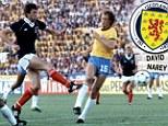David Narey's strike for Scotland against Brazil in 1982