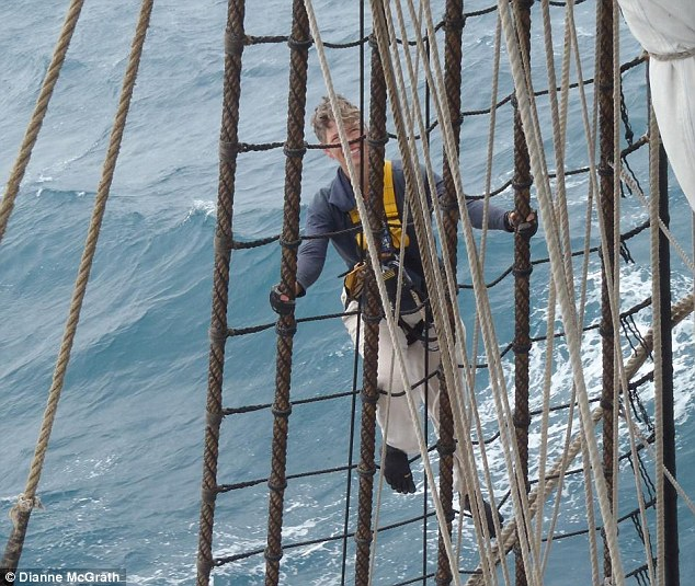 In 2012 Ms McGrath sailed on a replica of James Cook¿s ship the Endeavour, circumnavigating Australia from Albany in Western Australia to Lincoln in South Australia