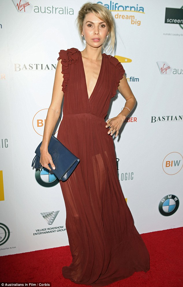 US: Actress Abby Earl at the Australians in Film Sixth Annual Heath Ledger Scholarship Anniversary Dinner