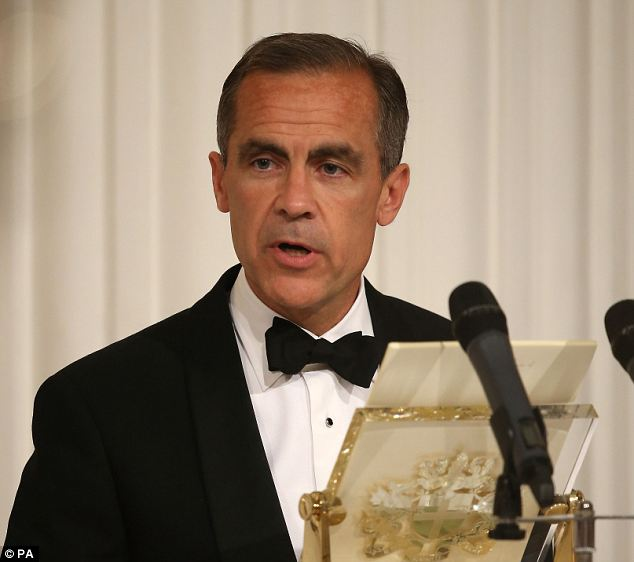 Carney's comments: Bank of England governor Mark Carney's rate hike hints in his Mansion House speech last night sent shivers through the London stock market today.