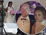 'We couldn't be happier': Rapper Eve ties the knot with Gumball 3000 motor rally CEO Maximillion Cooper during picturesque beach wedding in Ibiza