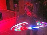 Party time! Peter Dinklage shared this snap of himself with a glow-in-the-dark hula hoop on Friday