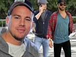 Hockey hunks! Channing Tatum joins Joshua Jackson and Chris Pine to cheer on LA Kings as they take the Stanley Cup