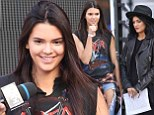 Good thing she is practicing! Kendall Jenner makes sure to avoid another autocue blunder rehearsing with sister Kylie to host the MuchMusic Video Awards