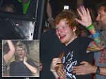 Superfan! Taylor Swift cheers on BFF Ed Sheeran has he performs in New York City