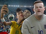 Neymar, Cristiano Ronaldo, Zlatan Ibrahimovic and Wayne Rooney team up in new animated Nike film