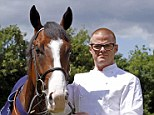 Join the gang: Heston Blumenthal has become te latest celebrity to become an owner at the Highclere stable