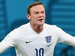 Under fire: Wayne Rooney has been criticised for his performance during England's 2-1 defeat to Italy