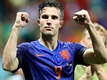 Vital: Rio Ferdinand says Robin van Persie equaliser for Holland changed the game in their 5-1 win vs Spain