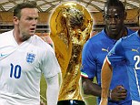 England take on Italy in Manaus