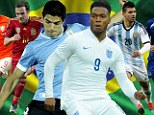 Opposites: Team-mates will become enemies at the 2014 World Cup in Brazil