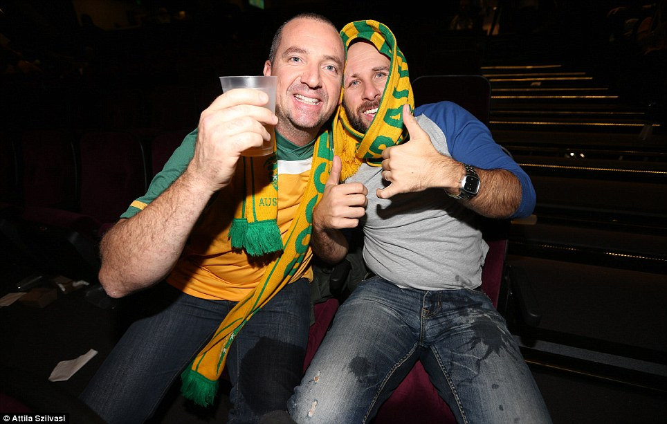 Socceroos fans will again come together to watch Australia's next game, when the team again faces tough competition from Spain on Tuesday