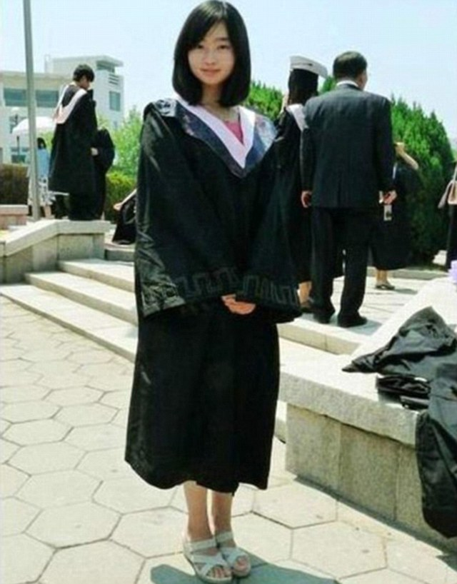 It was only after graduating from Qingdao University in Shandong Province (pictured), Ting became disillusioned with the lifestyle she and her fellow career minded friends were leading