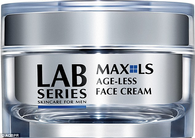 For a personal treat Spencer loves the LAB Series Age-Less Face Cream