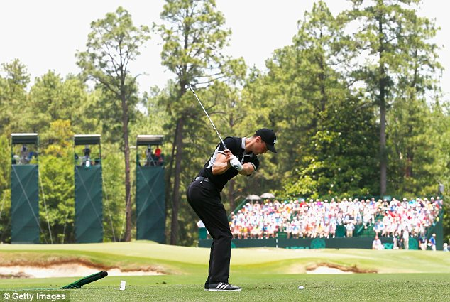 Red hot: Martin Kaymer carded a second successive 65 in the second round at Pinehurst