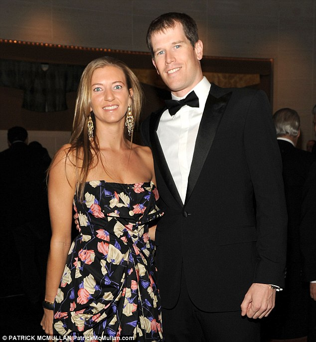 Getting hitched: Alexandra Steel and James (pictured at a New York event in 2012) are tying the knot in an elaborate Aspen wedding on Saturday