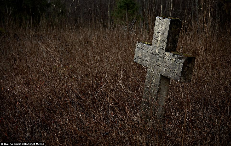 Bygone times: A forgotten cemetery for Baltic-Germans,  in Madis, Estonia. Having visited so many countries, Kaupo has photographed graveyards that are now relics of bygone eras