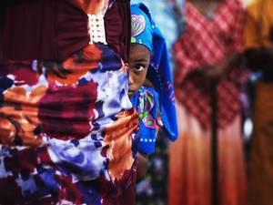 15 June 2014: A girl from the African Hebrew Israelite community, popularly known as