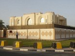 Life of luxury: The Taliban Afghanistan Political Office in Doha, pictured June 18, 2013, is in a building similar to where the five terror suspects released from Guantanamo Bay are living, it has been revealed