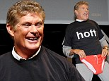 David Hasselhoff at a press conference for the Cannes Lions Festival
