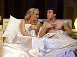 It's a OK to fancy a younger man, but don't do a Mrs Robinson... (Jerry Hall and Josh Cohen star in 'The Graduate' in 2000)