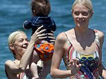 Mother's Day too! Jaime King made sure she got some play time with her son James Knight during their family holiday in Maui, Hawaii on Sunday