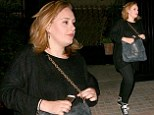 Adele heads to Chiltern Firehouse