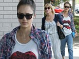 Girls day: Jessica Alba spent Sunday with her mother Catherine Jensen in Los Angeles