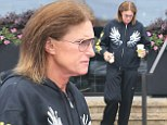Bruce Jenner has a quiet morning as he steps out for a coffee run by himself on Father's Day