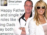 'To single Mommies that had to play both roles like me!' Lindsay Lohan's mother Dina takes nasty stab at ex-husband Michael on Father's Day