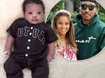 Meet Future! Ciara shared the first image of her baby boy Future on Father's Day