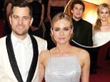 Don't put a ring on it: Diane Kruger said she doesn't plan on marrying her longtime love, Joshua Jackson, left